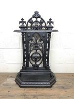 Victorian Cast Iron Umbrella Stand – Coalbrookdale Style (3 of 9)
