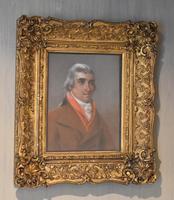 Fine Pastel Portrait of George Botham
