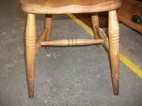 Spindle Back Kitchen Chair - 021-1665 (2 of 2)