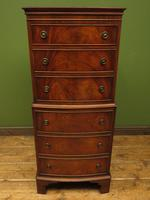 Narrow Antique Reproduction Reprodux Chest of Drawers by Bevan Funnell (5 of 14)
