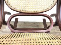 Bentwood Rocking Chair with Cane Seat (5 of 10)