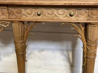 Wonderful French Walnut Console Table (33 of 36)