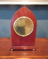 Superb Antique Sheraton Inlaid Mantel Clock (6 of 6)