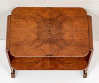 Walnut Art Deco Occasional Table (3 of 6)
