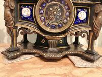 Superb Quality & Unusual French Clock Garniture (3 of 19)