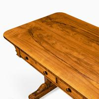 Late Regency Rosewood End Support Table Gillows or Holland & Sons (3 of 8)