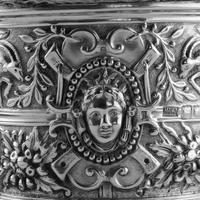 Rare Antique Solid Silver Cellini Tea Caddy Box - Mappin & Webb 1902 (25 of 28)