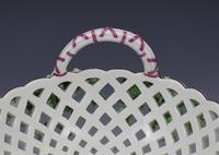 Fine Large Chelsea Red Anchor Porcelain Basket c.1750-1758 (17 of 18)