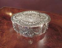 Antique Cast Silver Shaped Table Box (8 of 8)
