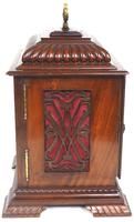 Vintage English Westminster Chime Bracket Clock – Solid Mahogany Musical Mantel Clock (2 of 10)