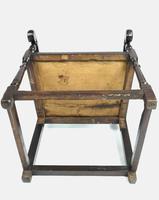 Rare 17th Century Derbyshire Wainscot Chair (3 of 10)