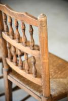 4 Country Spindle Back & Rush Chairs (2 of 11)
