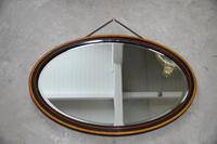 Vintage Oval Wall Mirror (8 of 12)