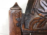 17th Century Carved Oak Side Chair (9 of 13)