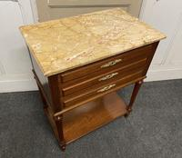 Quality French Marble Top Chest of Drawers (2 of 16)