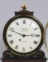 English George IV Mahogany Bracket Clock by L.Marks (6 of 8)