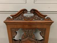 Good Pair of Victorian Walnut Hall Chairs (10 of 13)