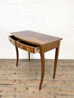 Reproduction Mahogany Bow Front Side Table (8 of 9)