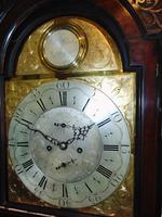 Georgian Scottish Cuban Mahogany Longcase Clock (5 of 10)