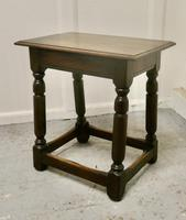 19th Century Oak Joint Stool (2 of 5)
