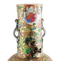 19th Century Chinese Canton Vase (4 of 8)