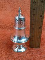Antique Sterling Silver Hallmarked Pepper Shaker 1909 London ,C S Harris & Sons Ltd (6 of 7)