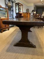 Oak refectory table (9 of 9)