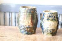 Scottish Pottery Slipware Barrel Storage Jars x4 (6 of 35)