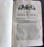 1825 Collection of  134 Government Pamphlets, Convicts of Australia,  A Piracy St.  Helena (7 of 8)