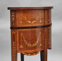 19th Century Mahogany Inlaid Side Table (2 of 11)
