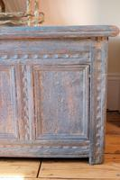18th Century Painted Pine Coffer (7 of 28)