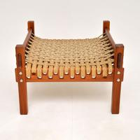 1960's Vintage Brazilian Woven Stool (2 of 9)
