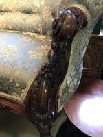 Victorian Mahogany Sofa (10 of 10)