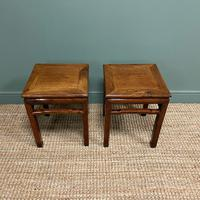 Stunning Pair of Antique Chinese Side Tables (2 of 4)
