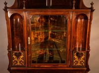Rosewood Corner Display Cabinet by Gillows (4 of 14)