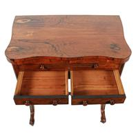 Rosewood Turn Over Top Writing Table (7 of 9)