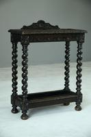 Victorian Carved Oak Stick Stand (10 of 10)