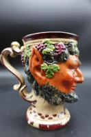 Well Modelled Mid 19th Century Bacchus Pottery Jug (2 of 5)