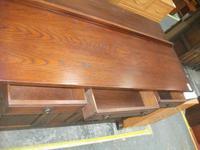 Large Carved Oak Old Charm Sideboard (2 of 3)