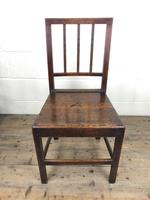 Set of Six 19th Century Welsh Oak Farmhouse Chairs (14 of 14)