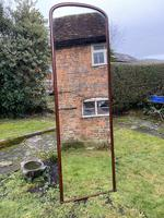 Very large 19th Century mahogany mirror (2 of 6)