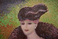 René DECAMP (XX) French School  Pointillist Mid Century (3 of 6)