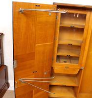 Compactum Oak Wardrobe Antique Vintage Gents Armoire (7 of 14)