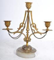 Pair of French Candelabra on Marble Bases (4 of 9)