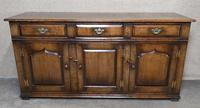 Titchmarsh Goodwin English Oak Dresser Base (2 of 10)