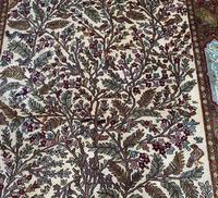 Superb Persian Silk Rug. Tree of Life Design (2 of 9)
