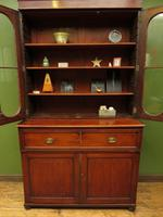 Antique George II Mahogany Secretaire Bookcase of Immense Character (8 of 16)