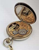 1930s Swiss Lever Pocket Watch & Chain (6 of 6)