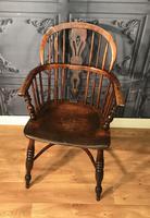 Low Back Ash & Elm Windsor Chair (6 of 8)