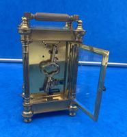 Victorian Gilt Brass  Charles Frodsham Carriage Clock (3 of 11)